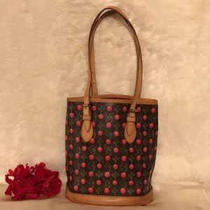 Louis Vuitton Monogram Cerises Cherry Bucket Bag